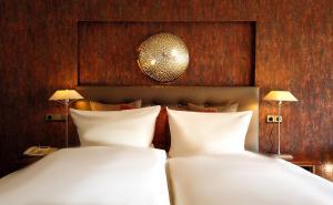Ein Bett oder Betten in einem Zimmer der Unterkunft Drahthammer Schlößl