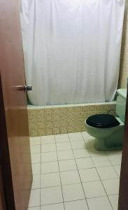 A bathroom at great location miraflores