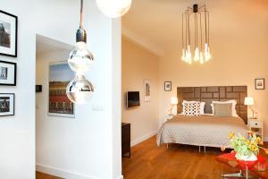 Cama ou camas em um quarto em Blue Tulip Amsterdam