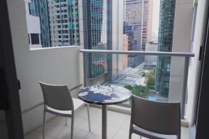 A balcony or terrace at Mantra Midtown