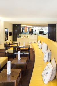 Ein Restaurant oder anderes Speiselokal in der Unterkunft Radisson Blu Hotel, St. Gallen