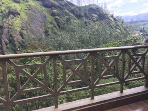 A balcony or terrace at Abad Copper Castle Resort