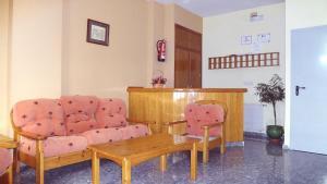 El vestíbulo o zona de recepción de Hostal el Volao