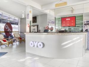 The lobby or reception area at OYO Hotel Stella Maris - Salvador