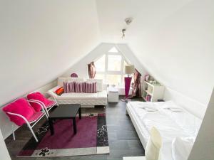 Ein Bett oder Betten in einem Zimmer der Unterkunft Bergloft Winterberg