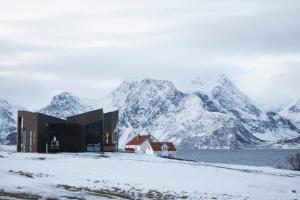Lyngen North during the winter