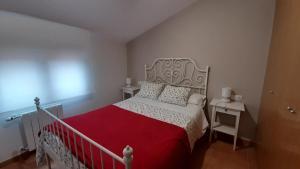 Cama o camas de una habitación en Caudiel Entre Sierras