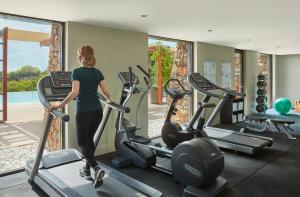 The fitness center and/or fitness facilities at Pullman Bunker Bay Resort Margaret River