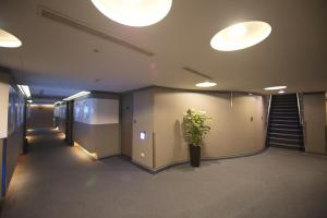 The lobby or reception area at Ximen Airline Hotel