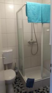 Ванная комната в Hotel Sonnenhof