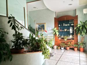 The lobby or reception area at Hotel Ristorante Re Di Cuori