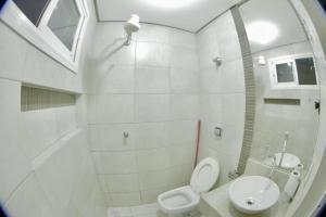 A bathroom at Grande Hotel