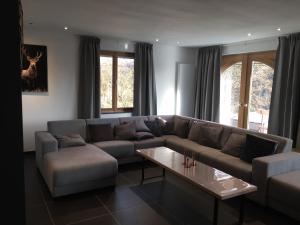A seating area at Villa Odile