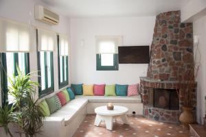 A seating area at Costa Marina Villas