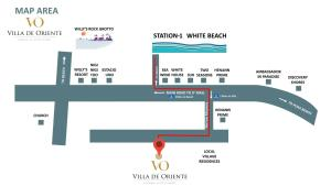 The floor plan of The Orient Beach Boracay