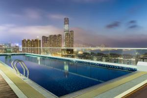 The swimming pool at or near Hilton Garden Inn Hong Kong Mongkok