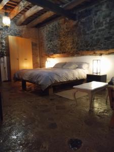 Cama o camas de una habitación en Can Masferrer