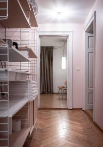A bunk bed or bunk beds in a room at Gasthaus zum Guten Glück
