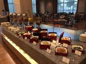 尚順君樂飯店餐廳或用餐的地方