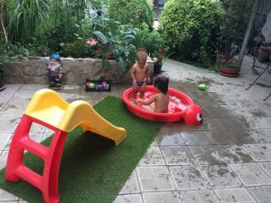 Children staying at Guest house Sibiriachka