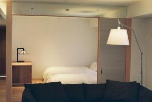 つりや東岩瀬にあるベッド