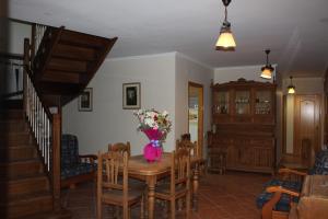 Zona de menjador de l'hostal o pensió