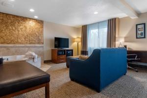 A seating area at Comfort Inn & Suites South Hill I-85