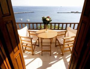 Μπαλκόνι ή βεράντα στο Hotel Selenunda