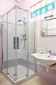 A bathroom at Hotel Al Gabbiano