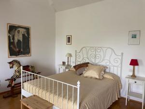 Postel nebo postele na pokoji v ubytování Monte Maino Bed & Breakfast