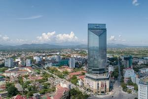 A bird's-eye view of Vinpearl Hotel Hue