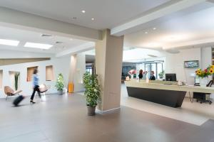 The lobby or reception area at Saracen Sands Hotel & Congress Centre - Palermo