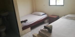A bed or beds in a room at Auto Hostal Jaramisol