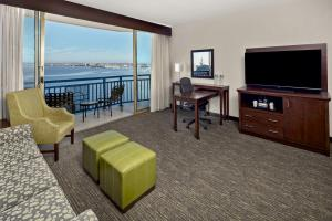 A television and/or entertainment center at Wyndham San Diego Bayside