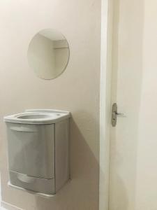 A bathroom at Hospedando Flats