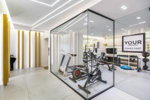 The fitness center and/or fitness facilities at Nsplace