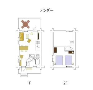 The floor plan of Fiore Shima