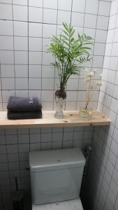A bathroom at Hostel Korea - Original