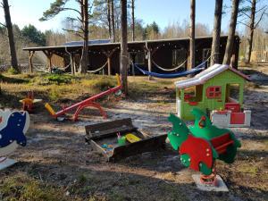 Children's play area at Cerību Liedags