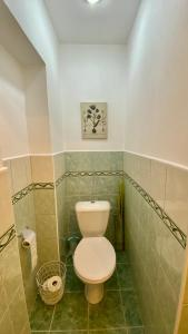 Koupelna v ubytování Villa Karlstein