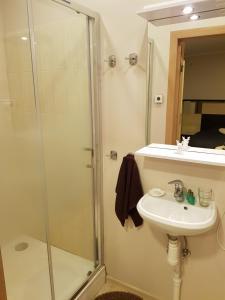 A bathroom at Cerību Liedags