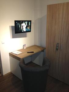 Ein Badezimmer in der Unterkunft Gasthof Goldenes Lamm