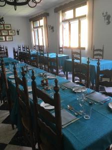 Restaurant ou autre lieu de restauration dans l'établissement Hôtel Le Val Du Tech