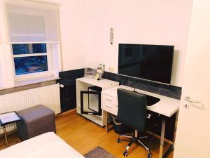 TV/Unterhaltungsangebot in der Unterkunft Schlosshotel Landstuhl