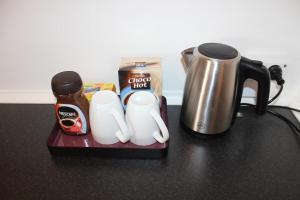 Kaffe- og tefaciliteter på Bække B&B