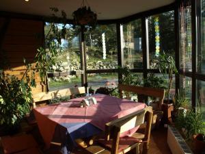 Restaurace v ubytování Pensjonat Widok - Bike Hotel