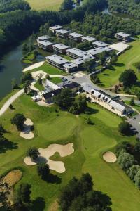 A bird's-eye view of Domaine De Cice Blossac Resort Spa Golf Rennes Sud