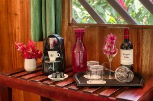 Bebidas en Shawandha Lodge