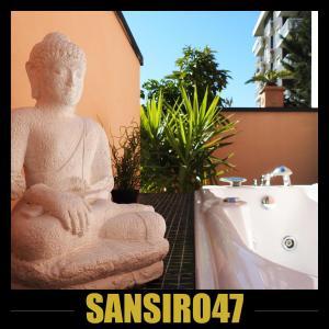 A bathroom at Sansiro47