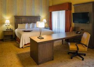 Ein Bett oder Betten in einem Zimmer der Unterkunft Hampton Inn & Suites Springdale/Zion National Park
